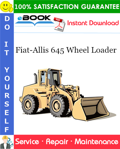Thumbnail ☆☆ Best ☆☆ Fiat-Allis 645 Wheel Loader Service Repair Manual