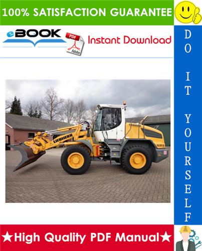 Thumbnail ☆ High-Quality ☆ Liebherr L524 - 1557 Wheel loader Service Repair Manual
