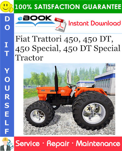 Thumbnail ☆☆ Best ☆☆ Fiat Trattori 450, 450 DT, 450 Special, 450 DT Special Tractor Service Repair Manual