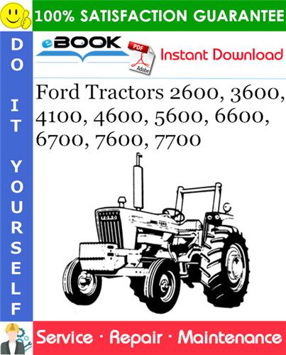 Thumbnail ☆☆ Best ☆☆ Ford Tractors 2600, 3600, 4100, 4600, 5600, 6600, 6700, 7600, 7700 Service Repair Manual