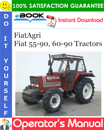 Thumbnail ☆☆ Best ☆☆ FiatAgri Fiat 55-90, 60-90 Tractors Operators Manual