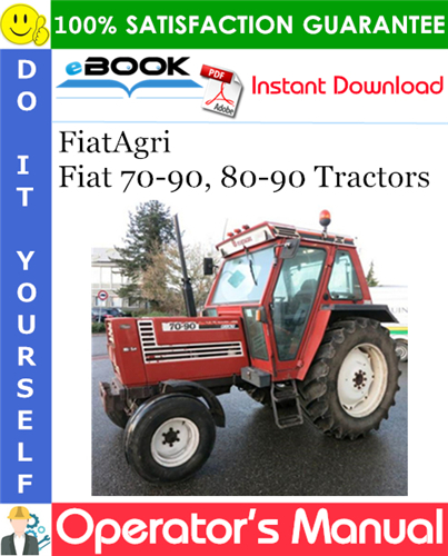 Thumbnail ☆☆ Best ☆☆ FiatAgri Fiat 70-90, 80-90 Tractors Operators Manual