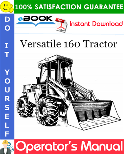 Thumbnail ☆☆ Best ☆☆ Versatile 160 Tractor Operators Manual (Model Year: 1983)