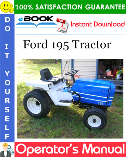 Thumbnail ☆☆ Best ☆☆ Ford 195 Tractor Operators Manual