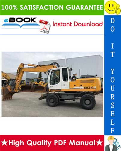 Thumbnail ☆☆ Best ☆☆ Liebherr A900B, A904, A914, A914B, A924, A924B Litronic Wheel Excavator Service Repair Manual