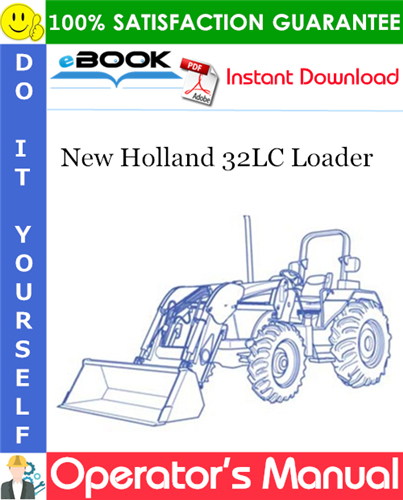 Thumbnail ☆☆ Best ☆☆ New Holland 32LC Loader Operators Manual (For TD, TLA and TNA Series Tractors)