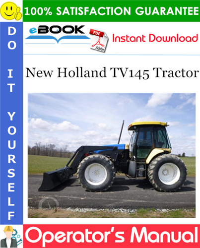 Thumbnail ☆☆ Best ☆☆ New Holland TV145 Tractor Operators Manual