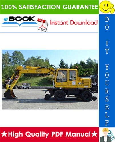 Thumbnail ☆☆ Best ☆☆ Liebherr A900-ZW Litronic Hydraulic Excavator Service Repair Manual