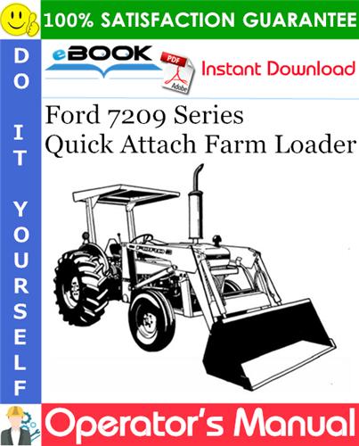 Thumbnail ☆☆ Best ☆☆ Ford 7209 Series Quick Attach Farm Loader Operators Manual