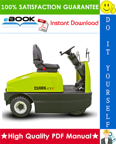 Thumbnail ☆☆ Best ☆☆ Clark CTX40, CTX70 Forklift Service Repair Manual