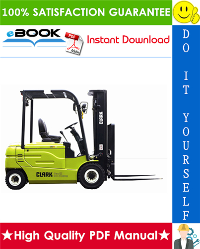 Thumbnail ☆☆ Best ☆☆ Clark GEX20, GEX25, GEX30S, GEX30, GEX32 Forklift Trucks Service Repair Manual