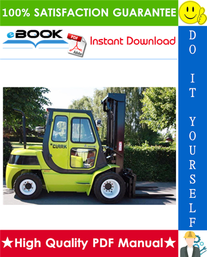 Thumbnail ☆☆ Best ☆☆ Clark CMP50D, CMP60D, CMP70D, CMP75SD, MP50L, CMP60L, CMP70L, CMP75SL, SF50L, SF60L, SF70L, SF75SL, SF50D, SF60D, SF70D, SF75SD Lift Trucks Service Manual