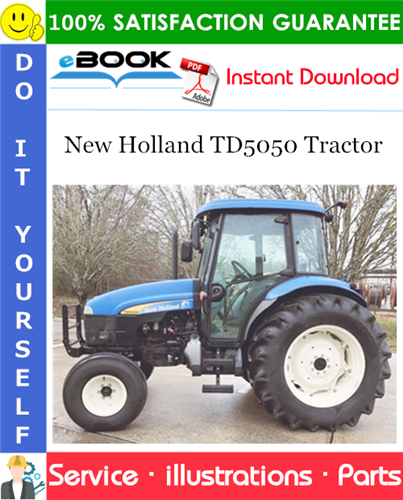 Thumbnail ☆☆ Best ☆☆ New Holland TD5050 Tractor Parts Catalog Manual