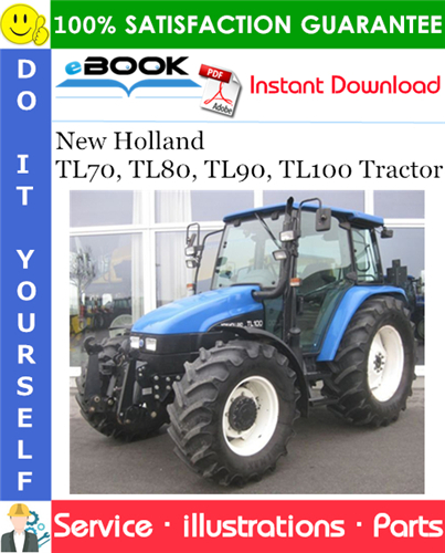 Thumbnail ☆☆ Best ☆☆ New Holland TL70, TL80, TL90, TL100 Tractor Parts Catalog Manual