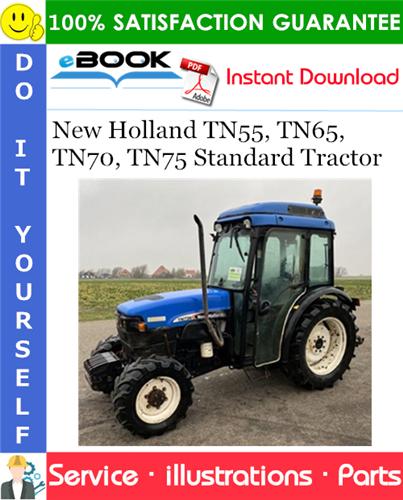 Thumbnail ☆☆ Best ☆☆ New Holland TN55, TN65, TN70, TN75 Standard Tractor Parts Catalog Manual