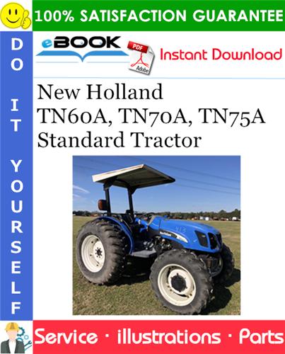 Thumbnail ☆☆ Best ☆☆ New Holland TN60A, TN70A, TN75A Standard Tractor Parts Catalog Manual
