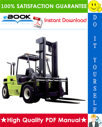 Thumbnail ☆☆ Best ☆☆ Clark C60, C70, C80 Forklift Trucks Service Repair Manual