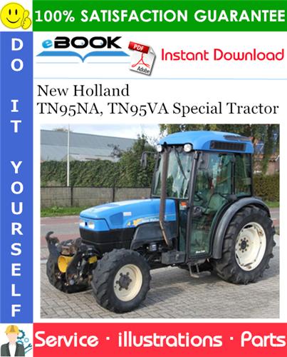 Thumbnail ☆☆ Best ☆☆ New Holland TN95NA, TN95VA Special Tractor Parts Catalog Manual
