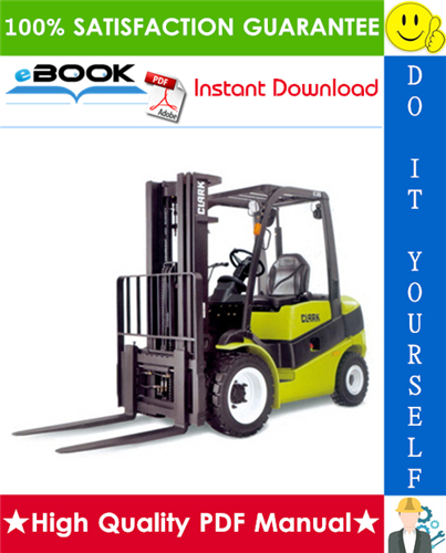 Thumbnail ☆☆ Best ☆☆ Clark CMP 40, CMP 45, CMP 50S Forklift Trucks Service Repair Manual