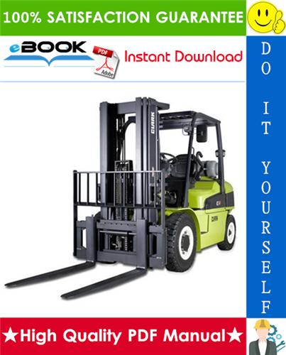 Thumbnail ☆☆ Best ☆☆ Clark CMP 50, CMP 60, CMP 70, CMP 75S Forklift Trucks Service Repair Manual