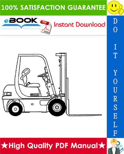 Thumbnail ☆☆ Best ☆☆ Clark CMP 15, CMP 18, CMP 20, CMP 25, CMP 30 Forklift Trucks Service Repair Manual