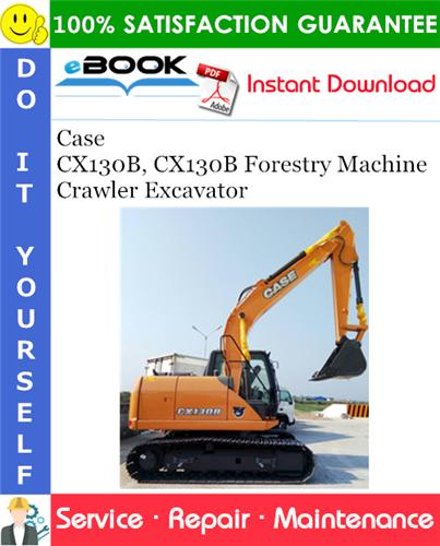 Thumbnail ☆☆ Best ☆☆ Case CX130B, CX130B Forestry Machine Crawler Excavator Service Repair Manual