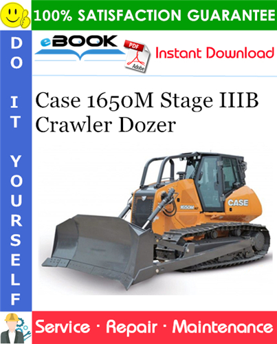 Thumbnail ☆☆ Best ☆☆ Case 1650M Stage IIIB Crawler Dozer Service Repair Manual (PIN NGC107000 and above)