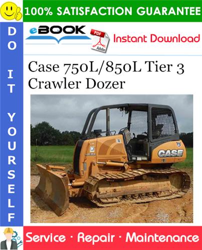 Thumbnail ☆☆ Best ☆☆ Case 750L/850L Tier 3 Crawler Dozer Service Repair Manual