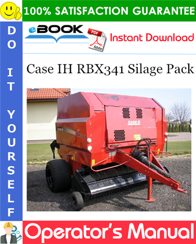 Thumbnail ☆☆ Best ☆☆ Case IH RBX341 Silage Pack Operators Manual