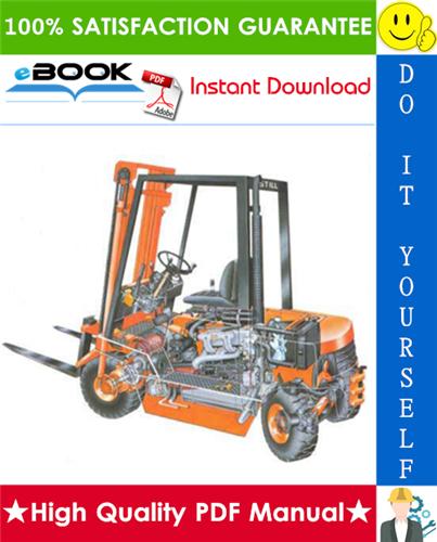 Thumbnail ☆☆ Best ☆☆ Still R70-20 bis 45 Series R7012, R7013, R7015, R7016, R7023, R7024, R7041, R7042, R7043 Forklift Trucks Service Repair Manual