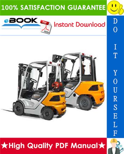 Thumbnail ☆ High-Quality ☆ Still RC-40 (4011, 4012, 4013, 4014 , 4015 , 4016, 4017, 40148, 4019, 4020) Diesel / LPG Forklift Trucks Service Repair Manual