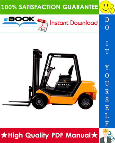 Thumbnail ☆ High-Quality ☆ Still R70-20, R70-25, R70-30 LPG/Diesel Fork Truck Service Repair Manual