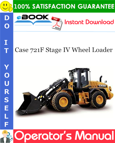 Thumbnail ☆☆ Best ☆☆ Case 721F Stage IV Wheel Loader Operators Manual