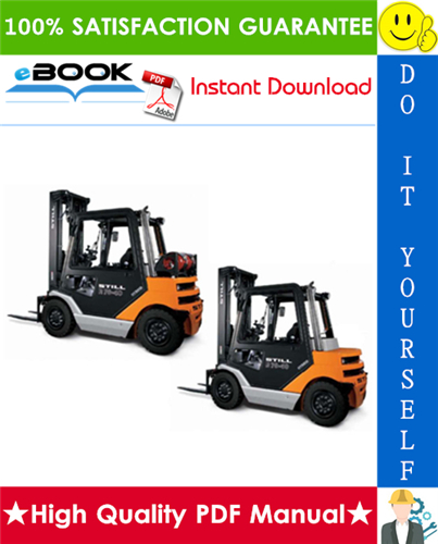 Thumbnail ☆☆ Best ☆☆ Still R70-40, R70-45, R70-50 Diesel Forklift Trucks Service Repair Manual