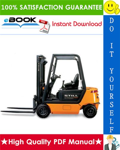 Thumbnail ☆☆ Best ☆☆ Still R70-16, R70-18, R70-20 Diesel/LPG Forklift Trucks Service Repair Manual