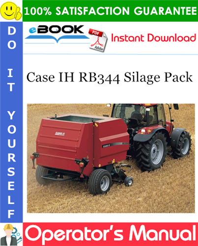 Thumbnail ☆☆ Best ☆☆ Case IH RB344 Silage Pack Operators Manual