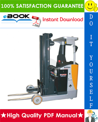 Thumbnail ☆☆ Best ☆☆ Still FM-X-10, FM-X-14, FM-X-17, FM-X-20, FM-X-25 Explosion- Protected Reach Truck Service Repair Manual