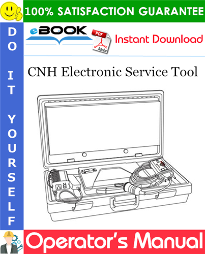 Thumbnail ☆☆ Best ☆☆ CNH Electronic Service Tool Operation and Maintenance Manual
