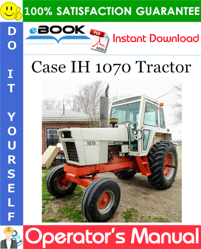 Thumbnail ☆☆ Best ☆☆ Case IH 1070 Tractor Operators Manual