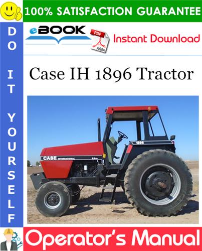 Thumbnail ☆☆ Best ☆☆ Case IH 1896 Tractor Operators Manual