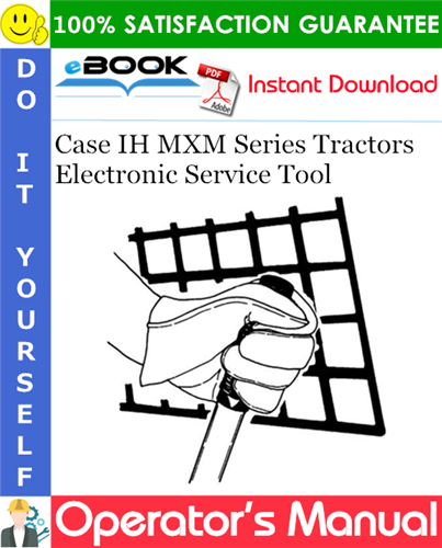 Thumbnail ☆☆ Best ☆☆ Case IH MXM Series Tractors Electronic Service Tool Users Guide