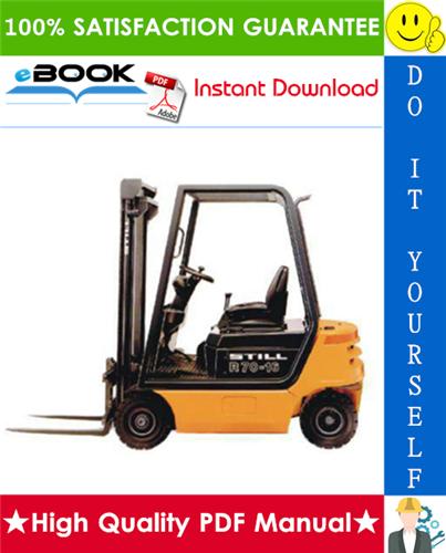 Thumbnail ☆☆ Best ☆☆ Still R70-16, R70-18, R70-20 Compact LPG/Diesel Fork Truck Service Repair Manual