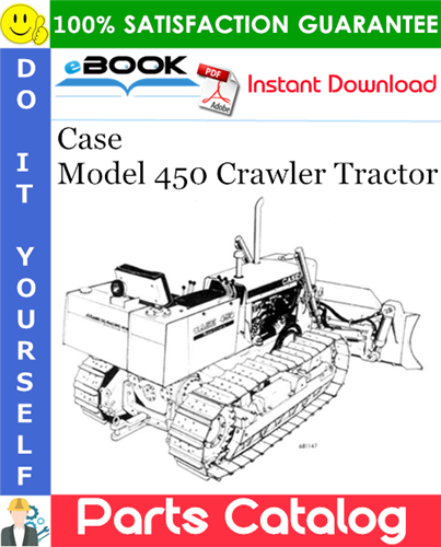Thumbnail ☆☆ Best ☆☆ Case Model 450 Crawler Tractor Parts Catalog Manual