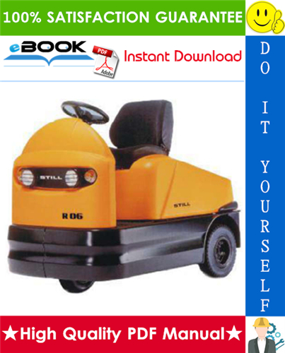 Thumbnail ☆☆ Best ☆☆ Still R06-06 Electric Tractor Service Repair Manual