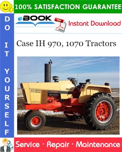 Thumbnail ☆☆ Best ☆☆ Case IH 970, 1070 Tractors Service Repair Manual