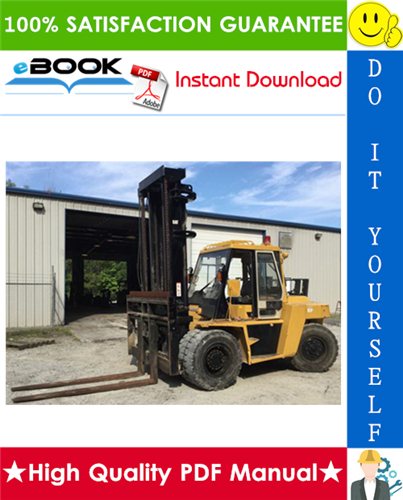 Thumbnail ☆☆ Best ☆☆ Caterpillar Cat DP80, DP90 Lift Trucks Service Repair Manual