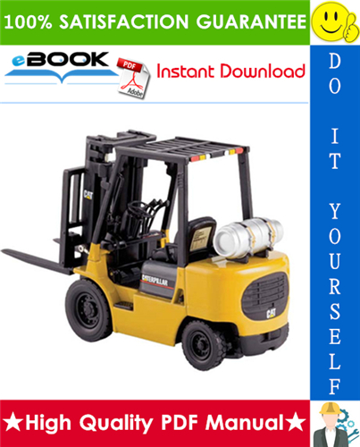 Thumbnail ☆☆ Best ☆☆ Caterpillar Cat GP15K AC, GP18K AC, GP20K AC, GP25K AC, GP30K AC, GP35K AC Lift Trucks (Chassis & Mast) Service Repair Manual