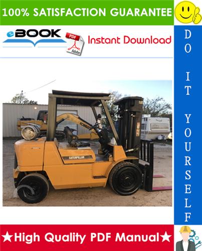 Thumbnail ☆☆ Best ☆☆ Caterpillar Cat GP40K, GP40KL, GP45K, GP50K Lift Trucks (Gasoline Engine) Service Repair Manual