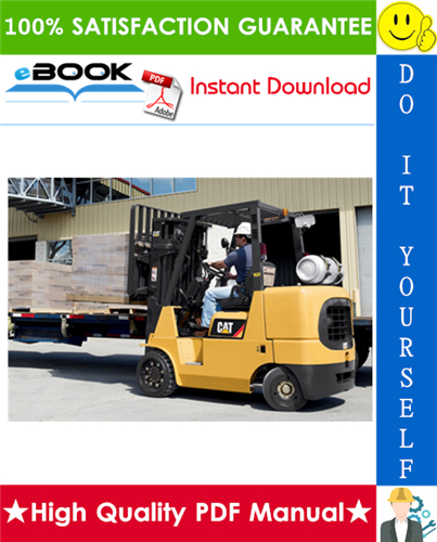 Thumbnail ☆☆ Best ☆☆ Caterpillar Cat GC35K, GC40K, GC40K STR, GC45K SWB, GC45K, GC45K STR, GC55K, GC55K STR, GC60K, GC70K, GC70K STR Lift Trucks Service Repair Manual