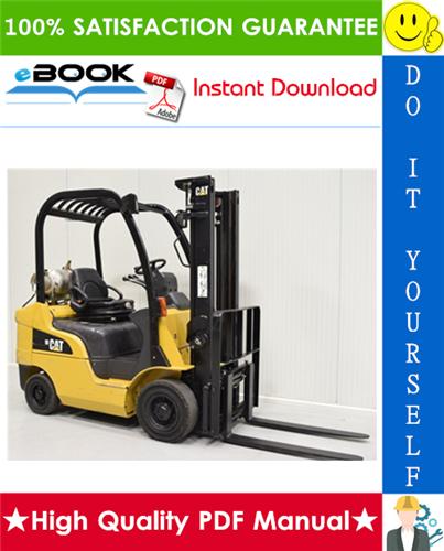 Thumbnail ☆☆ Best ☆☆ Caterpillar Cat GP20CN Lift Trucks Service Repair Manual